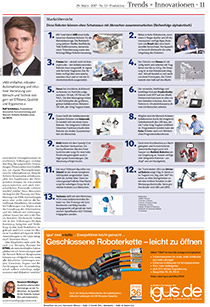 Trends + Innovationen: Marktübersicht